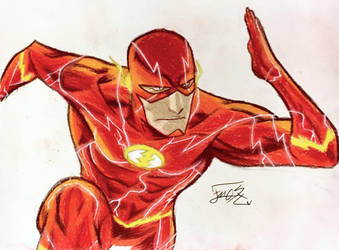 The Flash by step-on-mee