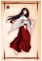 Priestess by PaolaPieretti