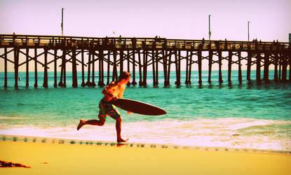 Surfer Dude Dash by MiniWookie