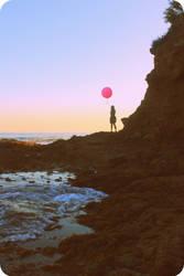 Le Ballon Rose by MiniWookie