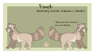 Finch Reference 2016 by coonuki