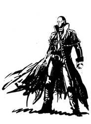 steampunk gunslinger by DarkMatteria