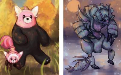 GenVIItober: Seasons by Spigu