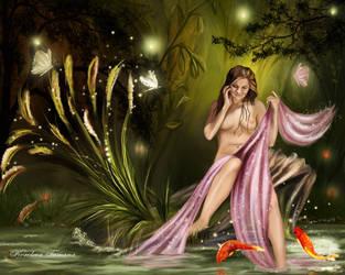 The goldfish by Korolevatumana