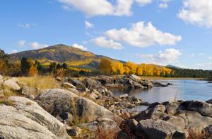 autumn landscape by Korolevatumana