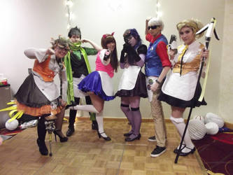 Con Jikan 2017- Overwatch Maid Cafe Event by shadowsirenmoon
