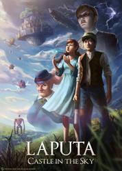 Laputa: Castle in the Sky by DeivCalviz