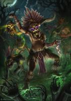 Diablo 3 - Witch Doctor by DeivCalviz