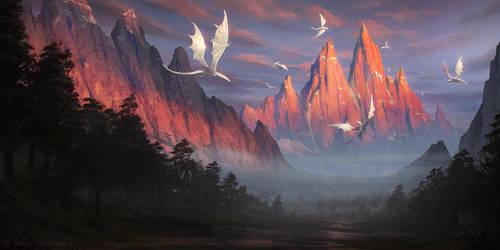 Trail of the Gods by DeivCalviz
