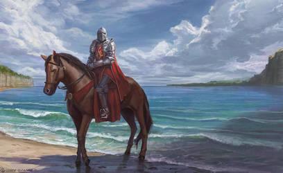Beachy Knight by DeivCalviz