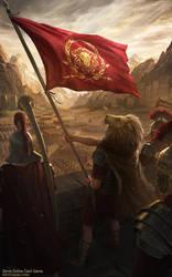 Zems - Banner of the Legion by DeivCalviz