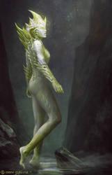 Sacred Thorn by DeivCalviz