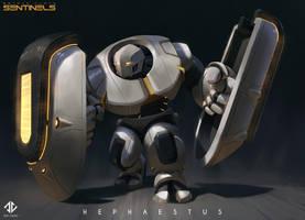 Hephaestus - Beyond Human by DeivCalviz