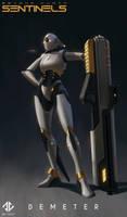 Demeter - Beyond Human by DeivCalviz