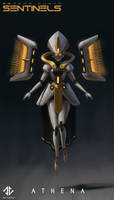 Athena - Beyond Human by DeivCalviz