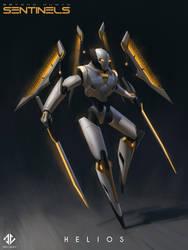 Helios - Beyond Human by DeivCalviz