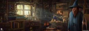 Merlin's Hut by DeivCalviz