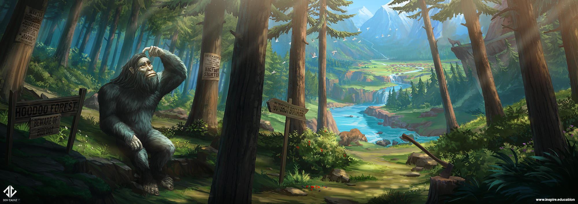 Hoodoo Forest by DeivCalviz