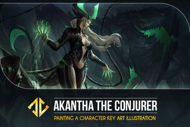 Painting a Character Key Art Tutorial! by DeivCalviz