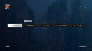 Steam OS Concept Games Submenu by Ohsneezeme