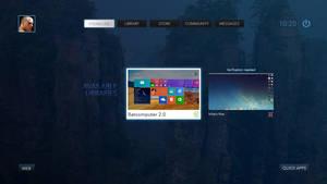 Steam OS Concept Games Steam line by Ohsneezeme