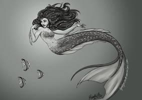 Pearl Mermaid by fyreflye26
