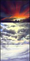 Cloud Studies by Sturzstrom