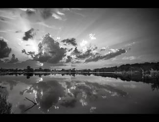 spencer lake black and white by BillyRWebb