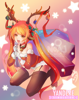 Merry Belated Christmas Osana chan by eisjon
