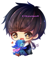 Commission Baby Chibi by lyscious (Geoffrey) by eisjon