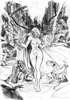 Unleashed 6 Cover pencil version by alucard3999
