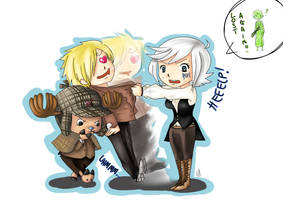 PC: Cova, Chopperlock Holmes and Sanjatson by MaCia998