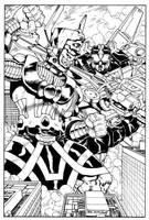 Galactus vs Voltron by Dogsupreme