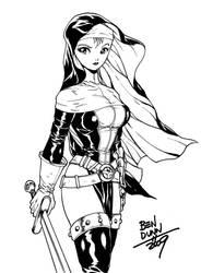 Warrior Nun Areala commission by Dogsupreme