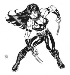 x-23 commission by Dogsupreme
