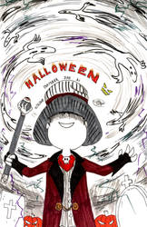 Inktober 2018: Day 31 - Halloween by Loreto-Arts