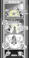 Friendship is Innuendo II 05-01:Thrust Into Action by Loreto-Arts