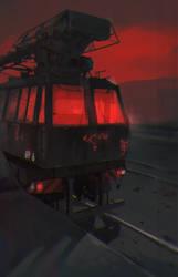 Railway Inferno I by Dae-K