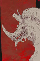 Hybrid - rhino by Dae-K