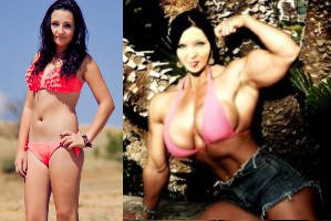 Katja before and after BB by DarkSoniti