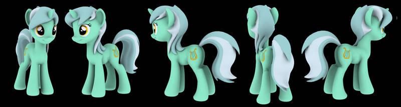 MLPFIM - Lyra - 01 by Hashbro