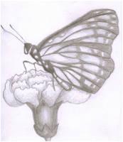 Butterfly Flower by lawlaw06