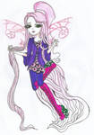 POINT COMMISION: EVER AFTER HIGH OC LILA FAY by Haneeys1nsyeerah