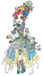 AT EAH OC: ISABELLA ROSE (WAY TOO WONDERLAND) by Haneeys1nsyeerah