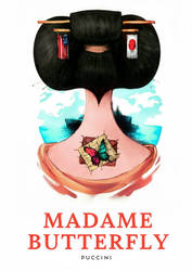 Opera Series: Madame Butterfly by O-ssyan