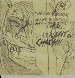 Joker= Agent Of Chaos! by triplestar100