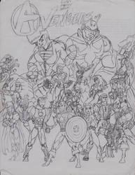 Marvel's Avengers by triplestar100