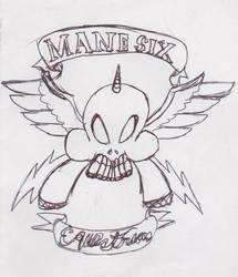 Mane Six (BulletClub Parody) by triplestar100