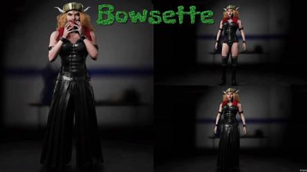 Koopa Queen Bowsette by triplestar100