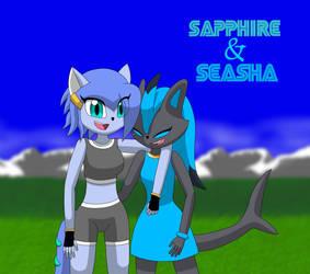 AT: Sapphire And Seasha by VictiniRUS